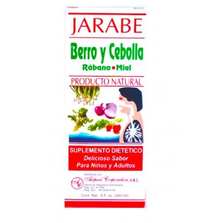 Jarabe Berro y Cebolla - 8 fl. oz.