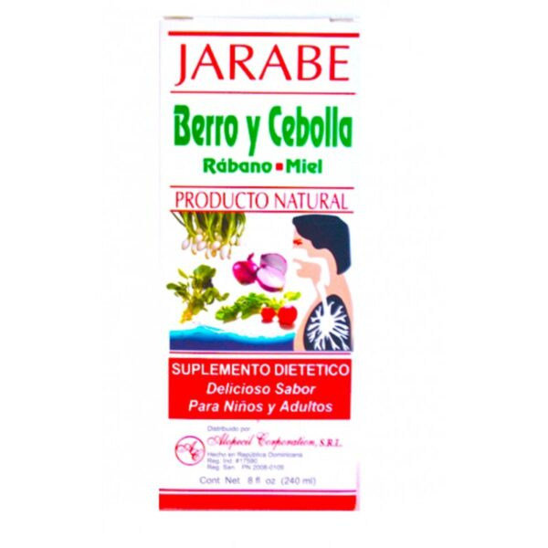 Rangel Jarabe Rabano Cebolla Miel - 240 ml