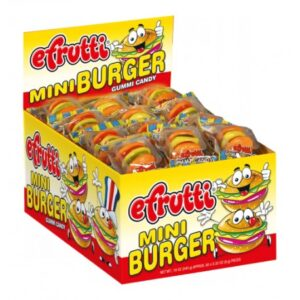 Efrutti Mini Burger - 60ct