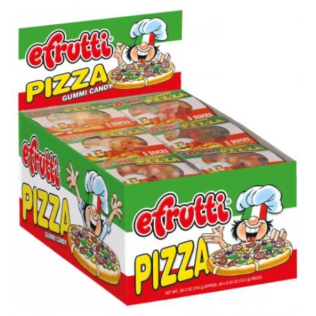 Efrutti Gummi Pizza - 48ct