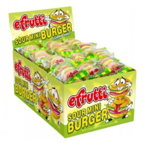Efrutti Sour Mini Burger - 60ct
