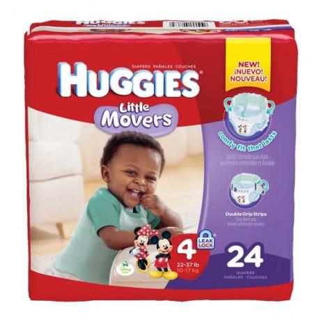 Huggies Diapers Jumbo 4