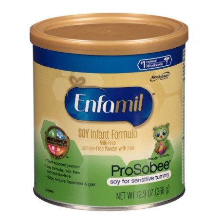 Enfamil Prosobee Powder - 12.9 oz. (Case of 12)