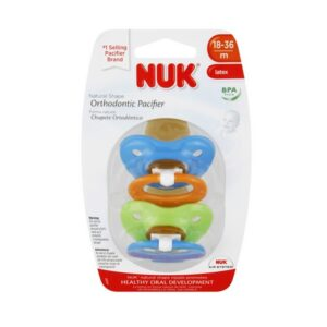 NUK Orthodontic Pacifiers 18-36 Month - (4 Pack/2ct)
