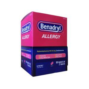 Benadryl Allergy 25mg - 60/2's