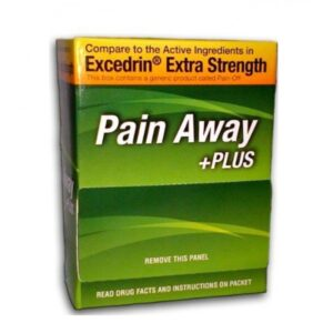 Pain Away +Plus (Excedrin) - 50ct