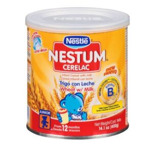 Nestle Nestum Wheat/Milk - 14.1 oz.