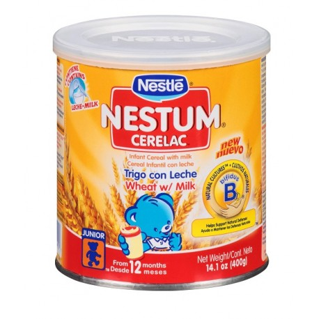 Nestle Nestum Wheat/Milk - 14.1 oz.