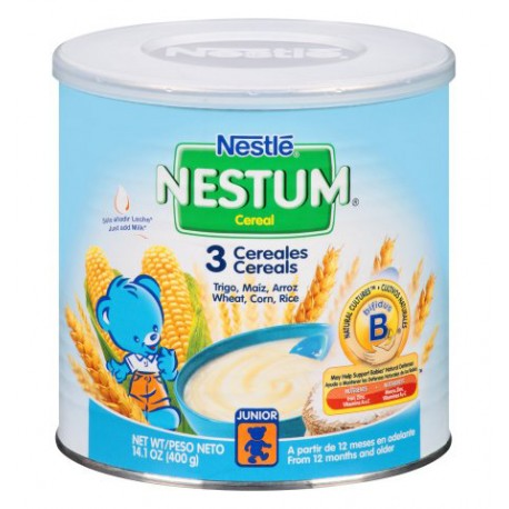 Nestle Nestum 3 Cereales - 14.1 oz.