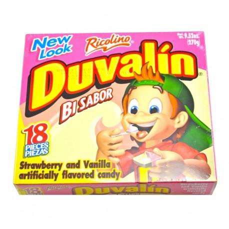 Duvalin Bi Sabor Strawberry/Vanilla - 18pc