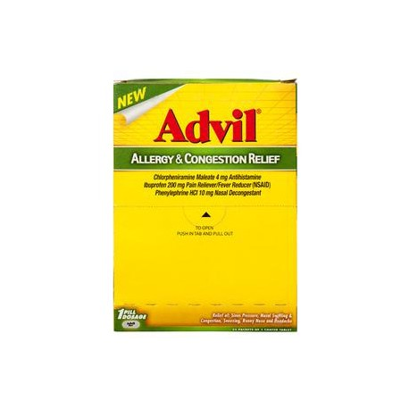 Advil Allergy & Congestion Relief - 25ct