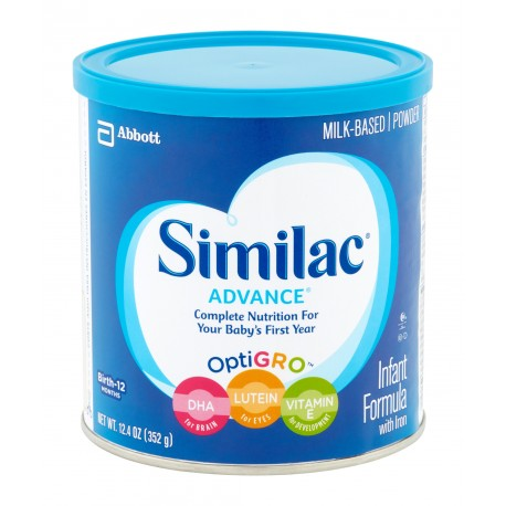 Similac Advance Early Shield Powder - 12.4 oz. (Case of 6)