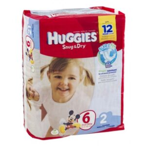 Huggies Diapers Jumbo 6