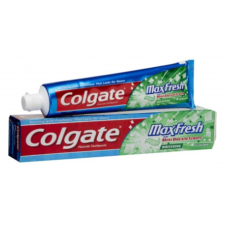 Colgate Toothpaste MaxFresh Clean Mint, 7.8 oz.
