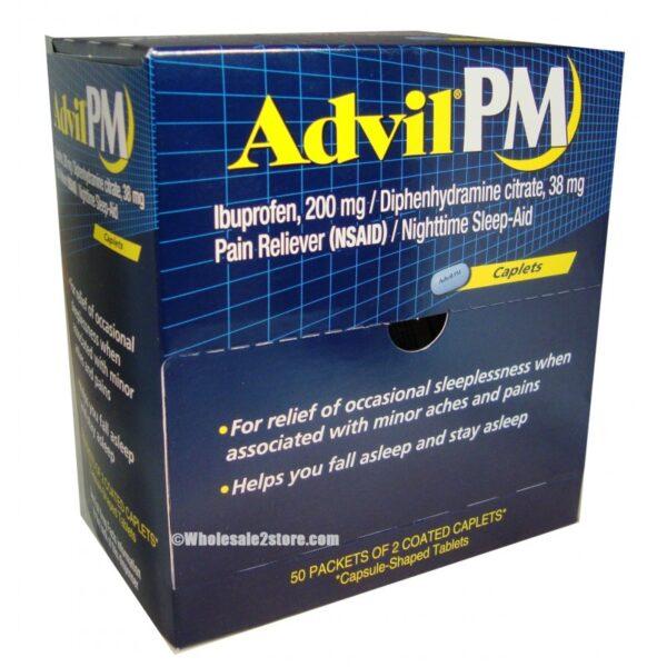 Advil PM 200mg - 50/2 Caps