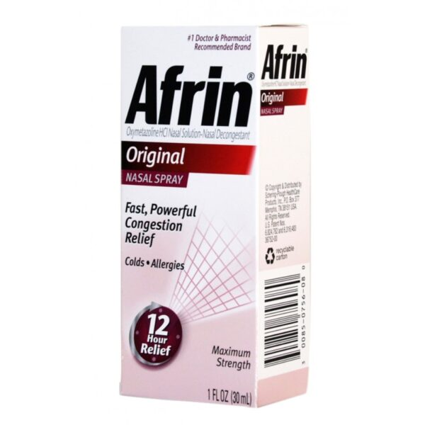 Afrin Nasal Spray Original - 1/2 fl. oz