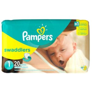 Pampers Swaddlers Size 1 - 12/20's