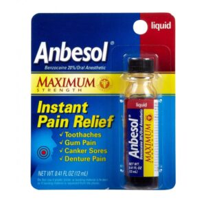 Anbesol Regular Gel - 0.33 oz