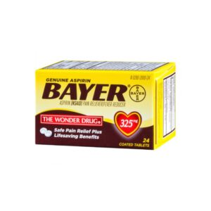 Bayer Aspirin 325mg - 24 Tabs