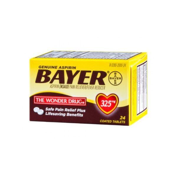 Bayer Aspirin 325mg - 24 Tabs