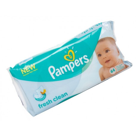 View larger Pampers Wipes Fresh Clean - 64ct