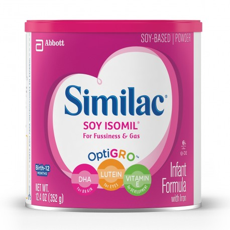 Similac Isomil Powder - 12.4 oz. (Case of 6)