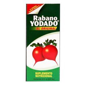 Rabano Yodado Syrup - 8 fl. oz