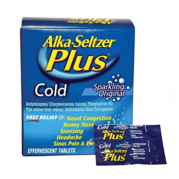 Alka Seltzer Plus Cold