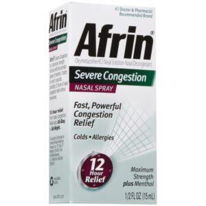 Afrin Nasal Spray Severe Congestion - 1/2 fl. oz.
