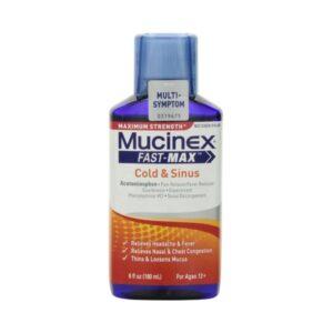 Mucinex Fast-Max Cold Sinus