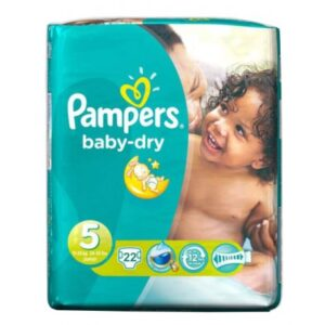 Pampers Baby Dry Convenience Pack 5 - 4/22's