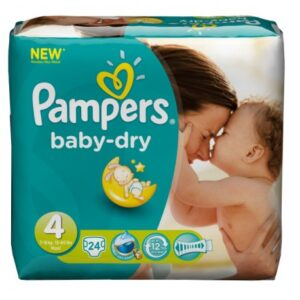 Pampers Baby Dry Convenience Pack 4 - 4/24's