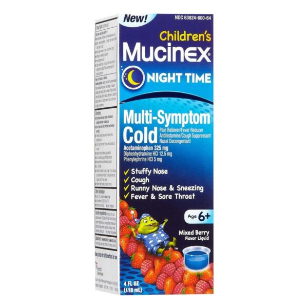 Mucinex Children's Night Time M-S Cold - 4 fl. oz.