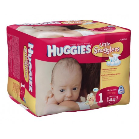 Huggies Jumbo Little Snugglers 1 - 4/35's
