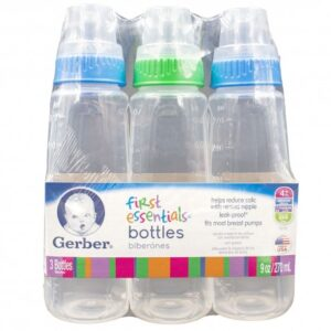 Gerber Baby Bottle Color 5 oz. - (Pack of 6)
