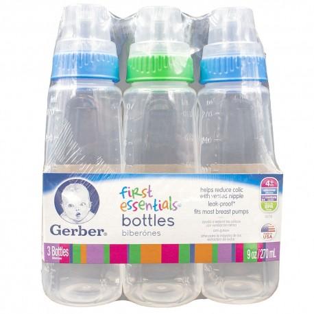 Gerber Baby Bottle Color 5 oz. - (Pack of 6)