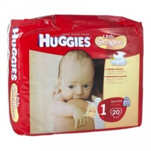Huggies Diapers Little Snugglers 1 - 12/20's
