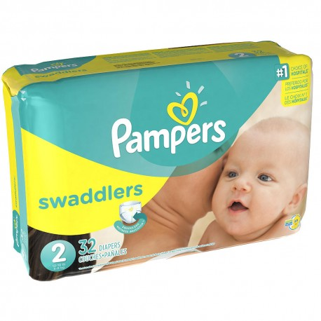 View larger Pampers Swaddlers Jumbo 2 - 6/36's
