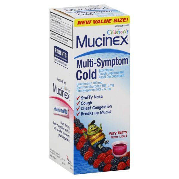 Mucinex Children's Multi-Symptom Cold - 4 fl. oz.