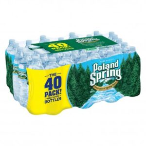 Poland Spring Water, 16.9 fl oz - 40 Pack