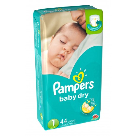 View larger Pampers Baby Dry Jumbo Pack 1 - 3/44's