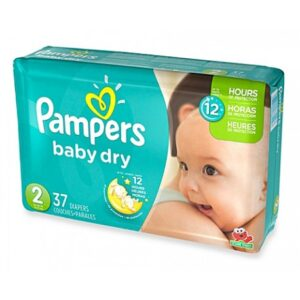 Pampers Baby Dry Convenience Pack 2 - 4/34's