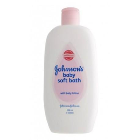 Johnson's Baby Soft Bath - 500ml