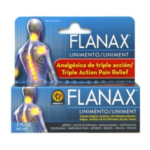 Flanax Liniment Liquid - 2 fl. oz.
