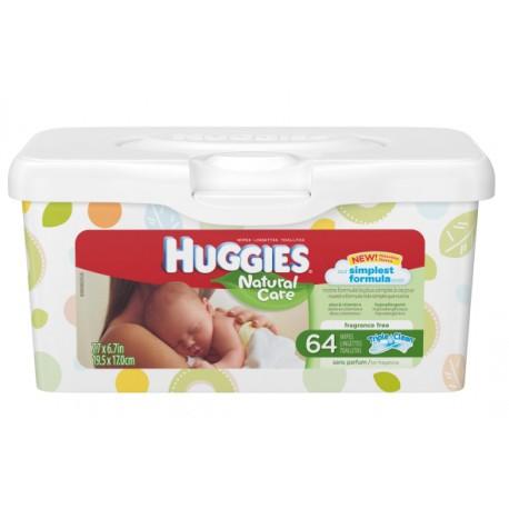 Huggies Wipes Nature Care - 64ct