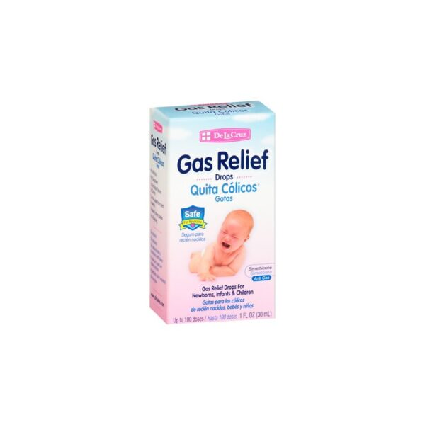 Gas Relief Drops (Quita Cólicos Gotas) - 1 fl. oz.