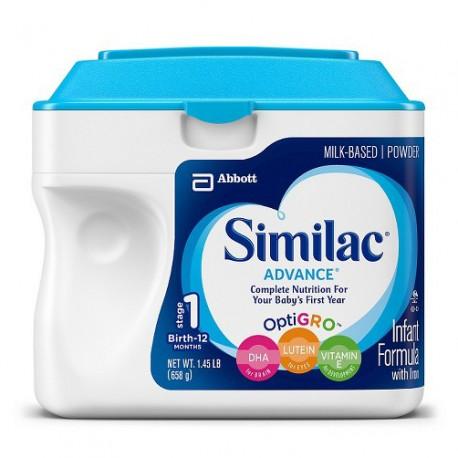 Similac Advance Powder - 1.45 lb.