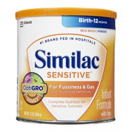 Similac Sensitive - 12.6 oz (Case of 6)