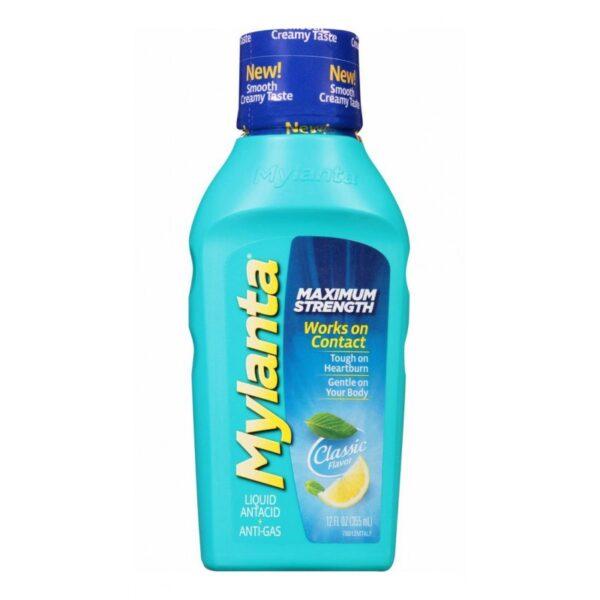 Mylanta Liquid Antacid Maximum Strength - 12 fl. oz.