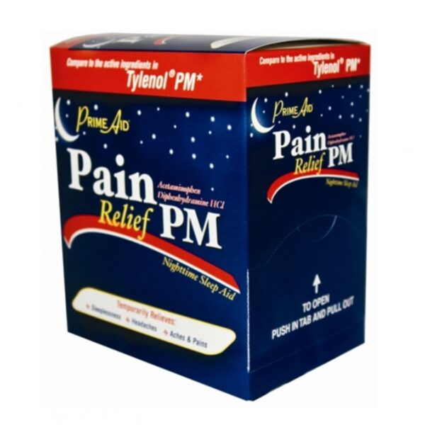 Prime Aid Pain Relief PM - 34/2's